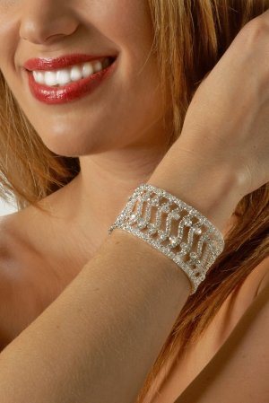Fancy Rhinestone Bracelet