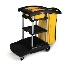RUBBERMAID COMMERCIAL PRODUCTS - High-Capacity Cleaning Cart