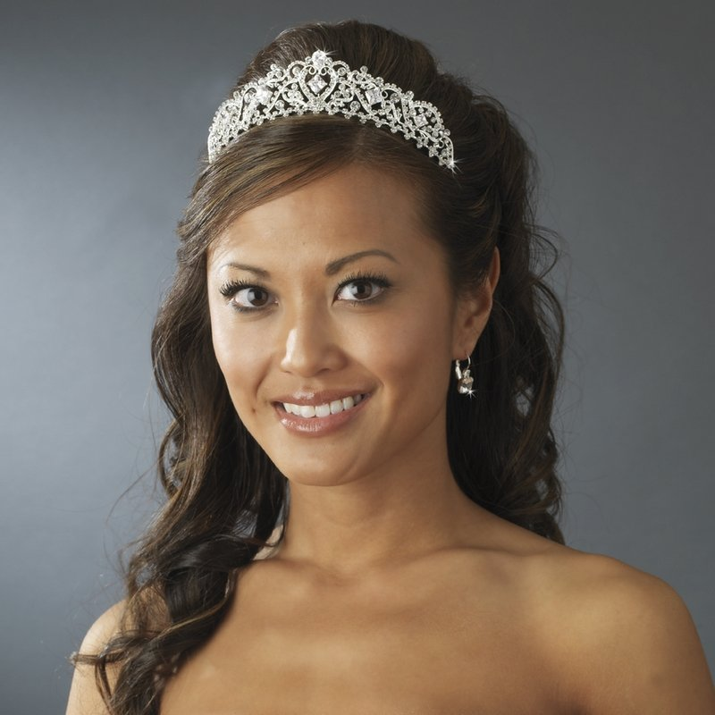 Princess Tiara in Silver Quinceanera, Mis Quince Anos or Prom