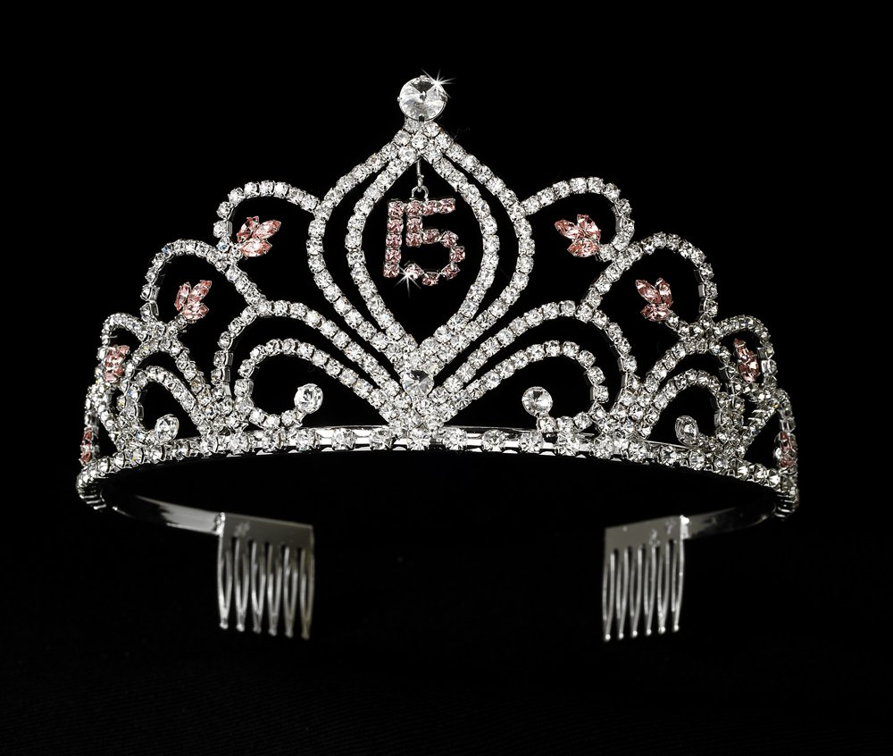 Perfect in Pink Mis Quince Sweet 15 Quinceanera Tiara