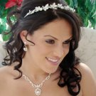 Lovely Bridal Rhinestone Butterfly Headband Tiara