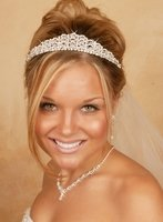Dazzling Crystal and Rhinestone Quinceanera Tiara
