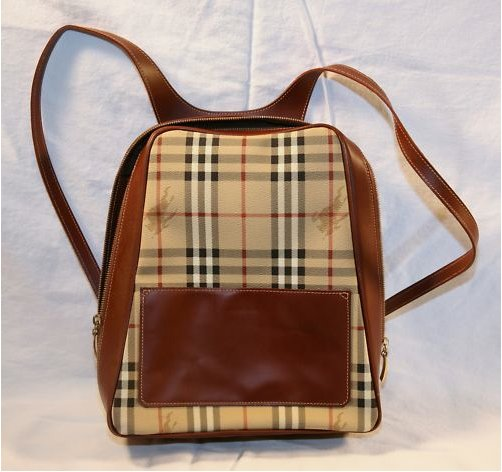 Authentic Burberry Backpack Classic Style