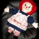 "RAGGEDY ANN 17"" PLUSH DOLL  - 1991 APPLAUSE BRAND DOLL"