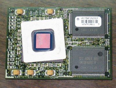 MOTOROLA Processor PowerPC Mac G3 - XPC750FIP233CF