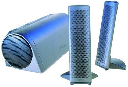 TDK Tremor S80 3-Piece Stereo Speakers - Need Repair