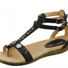 Women Gladiator Sandals Lena-8 By Reneeze