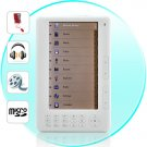 Mebook - 7 Inch High Resolution eBook Reader + Super Media Player (4GB)