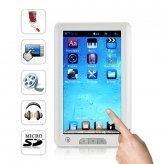 Mebook Touch - 7 Inch High Resolution Touchscreen eBook Reader + Super Media Player (4GB)