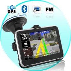 Road Nav - 4.5 Inch Touchscreen GPS Navigator with Bluetooth