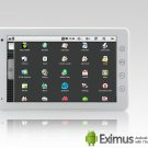 Eximus - Android 2.1 Tablet with 7 Inch Touchscreen and WiFi - White (Camera + HDMI)