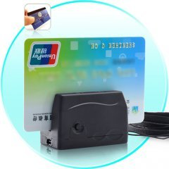 World's Smallest Mini Credit Card Reader and Data Collector
