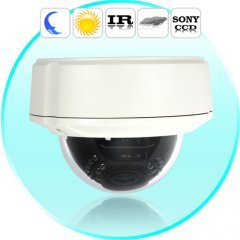 Security Camera (Sony Super HAD CCD, Night Vision, Vandalproof)