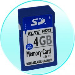 4GB SD Memory Card - 5 pcs/lot