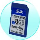 8GB SD Memory Card - 5 pcs/lot