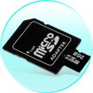 2GB MicroSD / TF Card with SD Card Slot Adapter - 10 pcs/lot