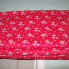CATH KIDSTON MINI ROSE RED ROMAN BLIND SMALL