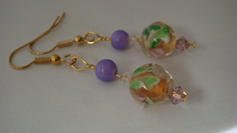 Earrings: Star of the Nile