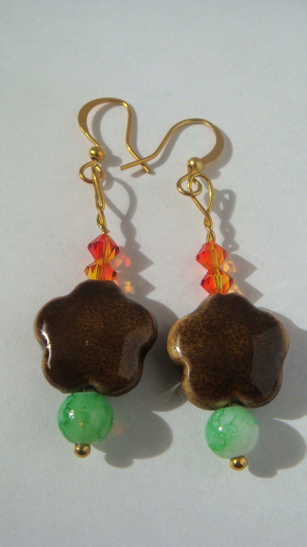 Earrings: Seedlings
