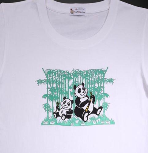 Panda T Shirt Design for Women - Original in Package  (Women's Medium)