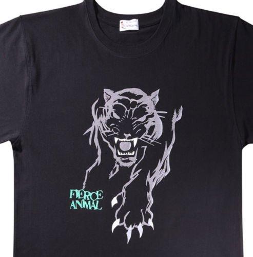 Tiger T  Shirts - Animal Tee for Men, Original New Pack   (Men's Medium)