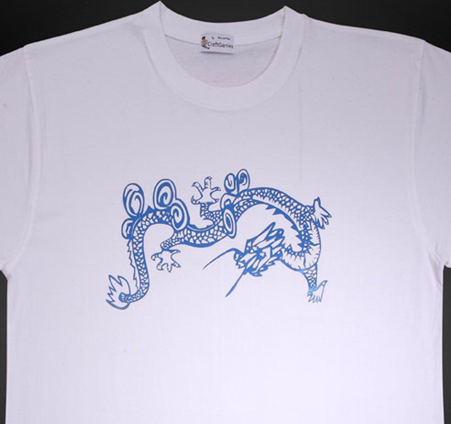 Dragon Tee Shirt Animal Tee for Men - New, Original  (Men's XL)