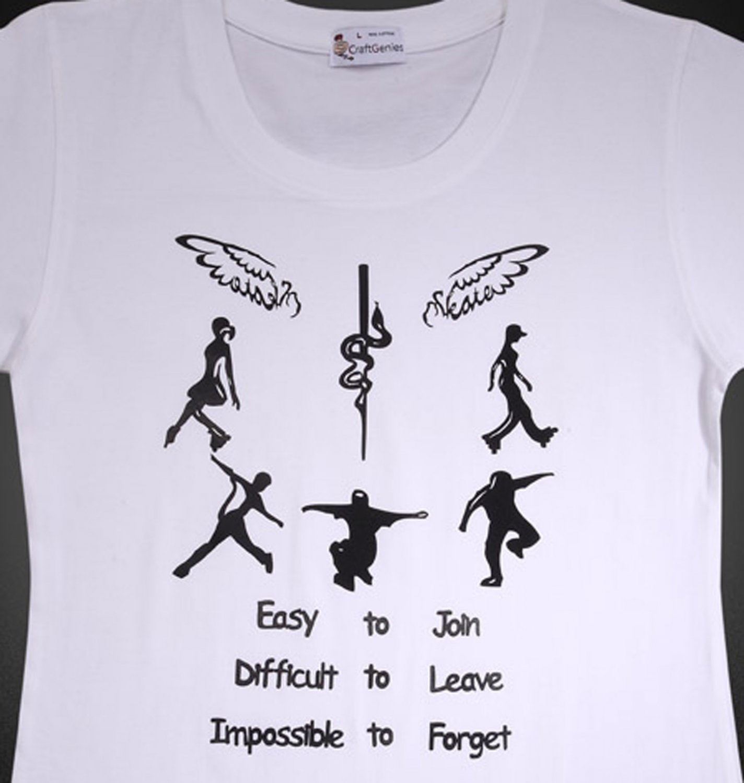 School T Shirt College Student T Shirts for Women, New    (Women's Medium)