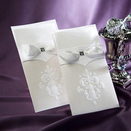 'Buckingham' Luxury Wedding Invitation with RSVP