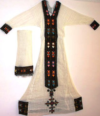 Hand Made #Ethiopian Habeshan(Ereterian) African Dress,zuriya short time 10 % discount.