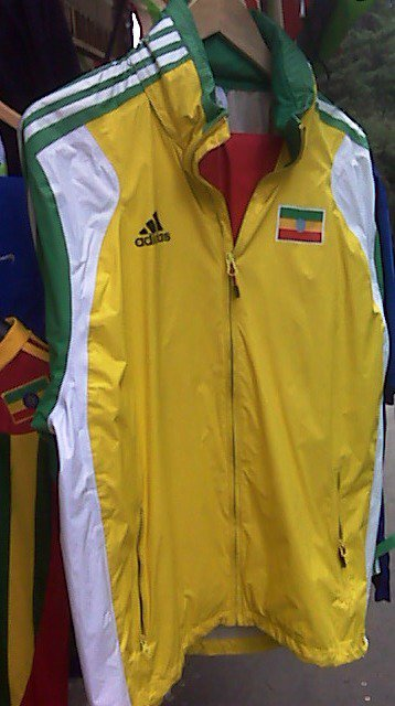 Ethiopian National Olympics team sweat suit. 30% Discount Free Shipping through out the world.