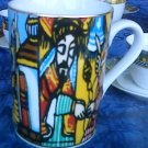 Hand made ethiopian ceramic Mugs
