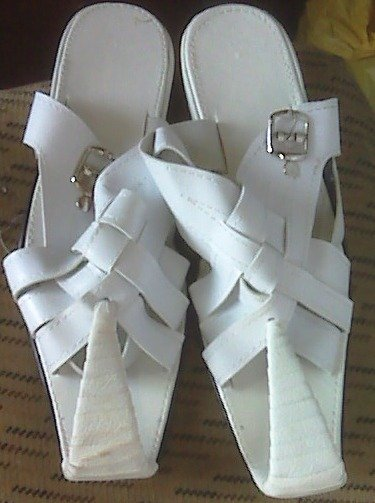 Hand made Ethiopian Traditional shoe