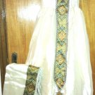 Hand Made Ethiopian Dress with A New design that just came out