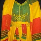 Ethiopian flag design Coffee dress Free shipping (ታላቅ ቅናሽ) 10% Discount