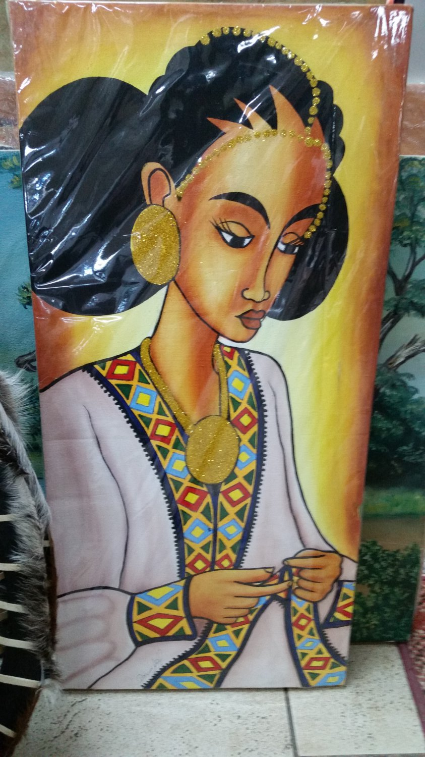 Ethiopian,Eritrean Habeshan, African Drawings and Arts Free shipping world wide  5