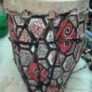 Hand Made Ethiopian Church Enbilta (African) Drum ( Kebero) Free Shipping.