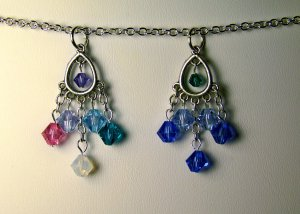 Royal Sisters Pendant Set