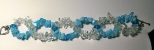 blue helix bracelet