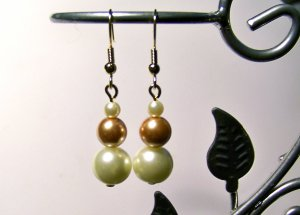 Pearl Single Tier Earrings
