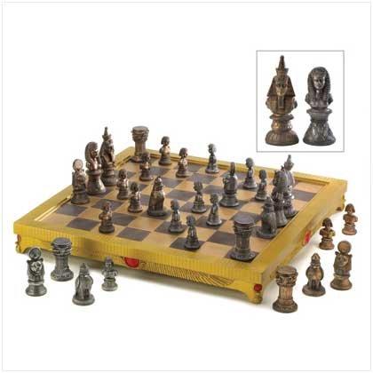 Egyptian Legends Chess Set