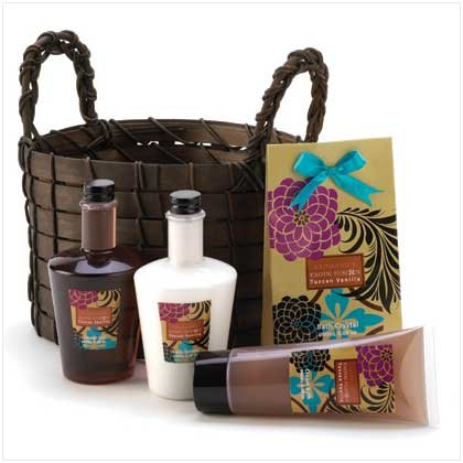 Exotic Fusion Bath Basket