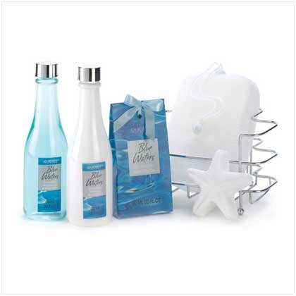 Blue Waters Bath Set