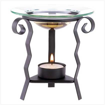 Abstract Wave Oil Warmer