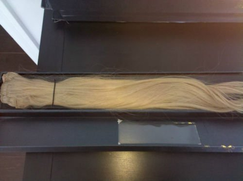 AMIKA 100% Real Human Hair Extensions - True Blond