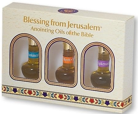 Blessing from Jerusalem Anointing oil from the bible