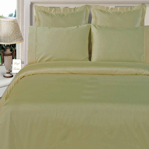 King/Calking Size Linen (Tan) Duvet Cover Set Bamboo Organic Cotton