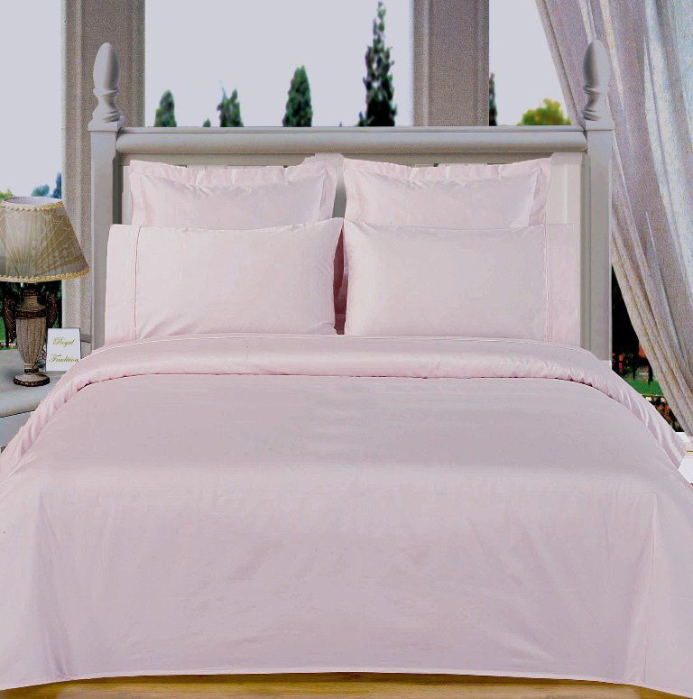 White Solid Down Alternative 4-pc Comforter Set,100% Egyptian cotton, 550 Thread count
