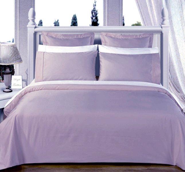 Light-Blue Solid Down Alternative 4-pc Comforter Set,100% Egyptian cotton, 550 Thread count