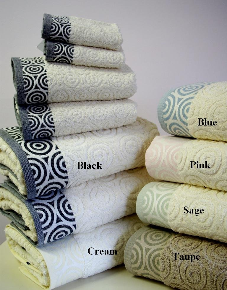 6-PC Water Weaves Towel Set