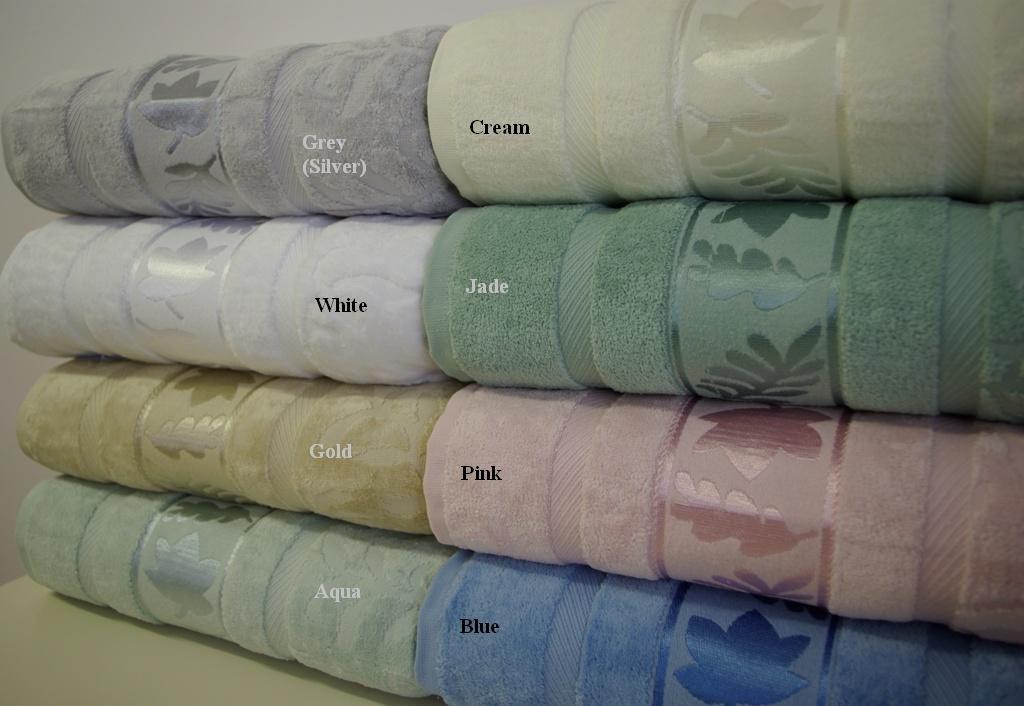 6-PC Grand Jacquard Towel sets